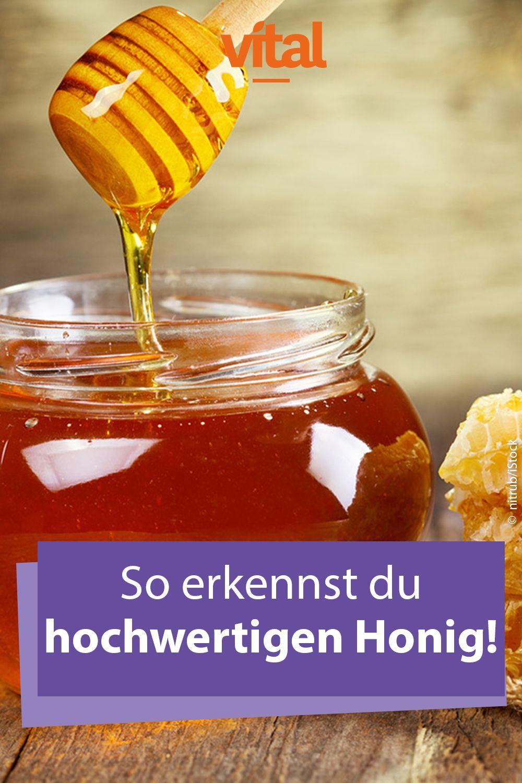 Guten Honig Erkennen So Erkennen Sie Qualitat Bester Honig Gesunde Nahrung Honig