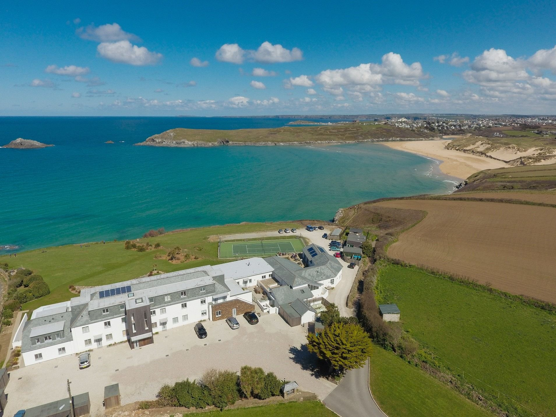 Crantock Bay Apartments West Pentire Newquay Cornwall England