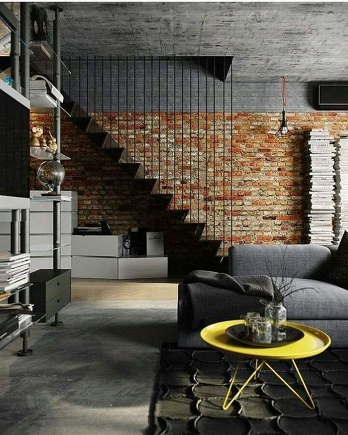 50 Most Extraordinary Commercial Design Living Room. Find This Pin And More  On 50+ Amazing Brick Wall Interior ... Idea
