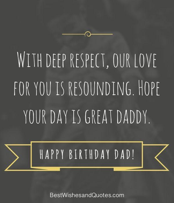 Happy Birthday Wishes For Dad Happy Birthday Dad Happy Birthday
