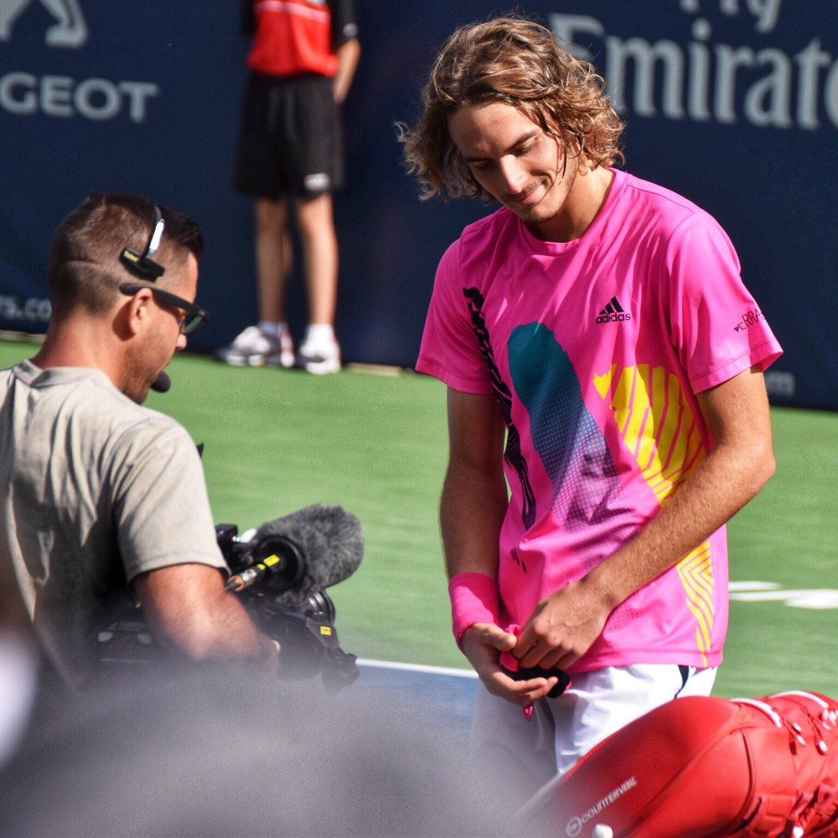 Maria Sakkari Nothing Is Going On With Me And Stefanos Tsitsipas In 2020 Tennis Stars Tennis Maria