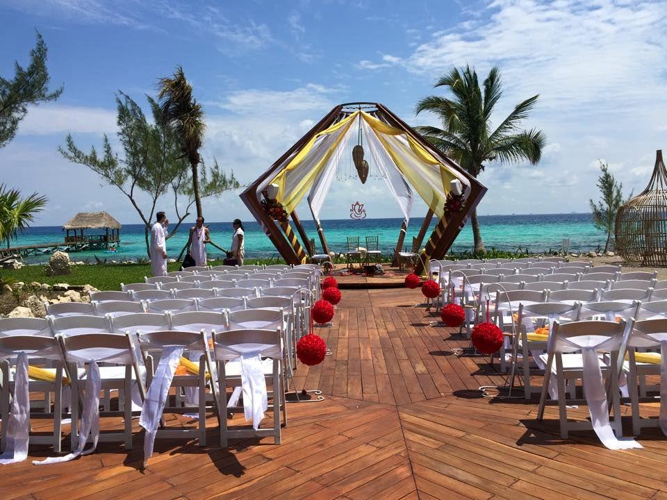Indian Destinationwedding Rivieramaya Azulresorts Vip Vacations Wedding Southasianwedding Hinduwedding Indianwedding Azul Fives