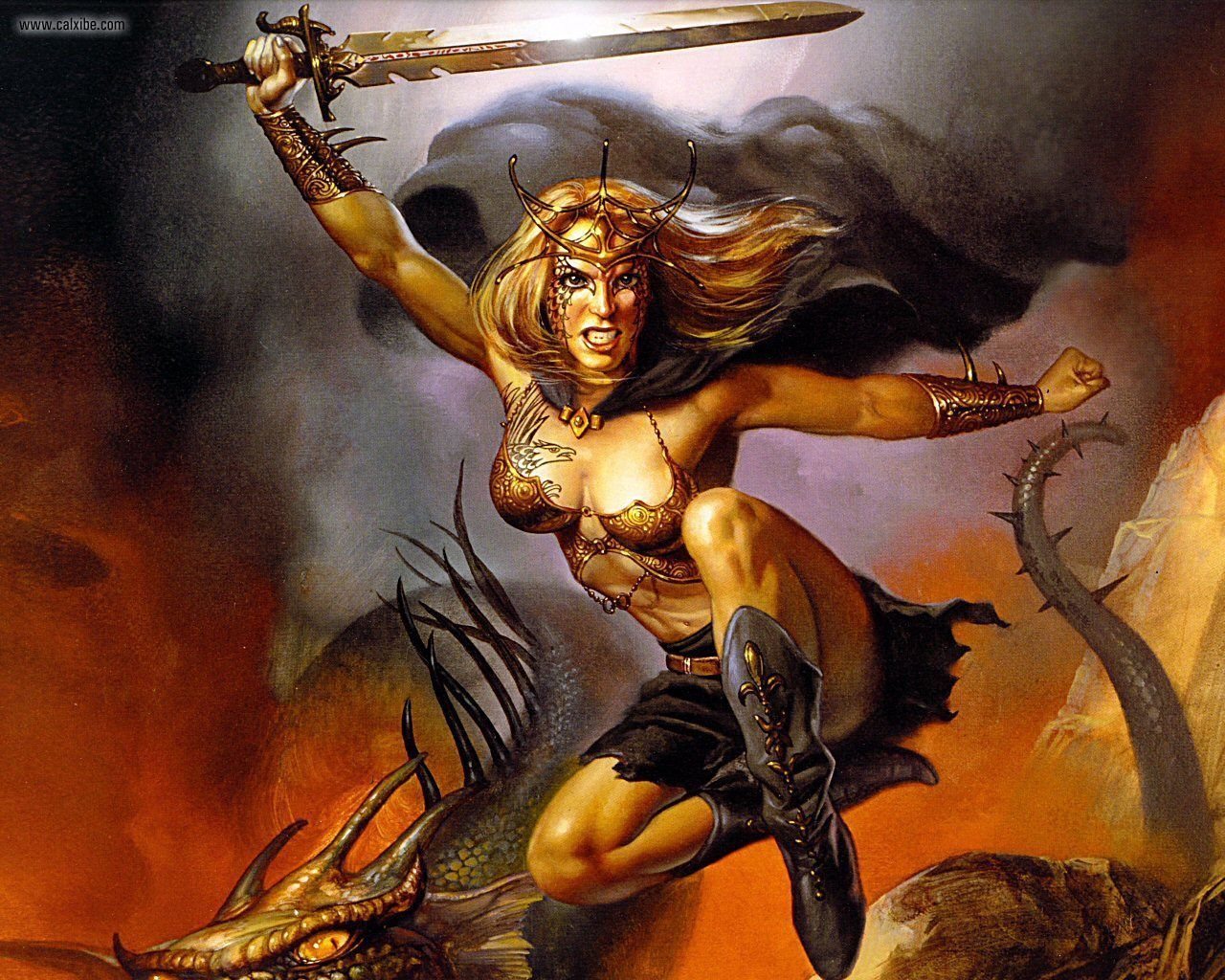 Boris Vallejo And Julie Bell Amazing Illustrators Who Work In Old