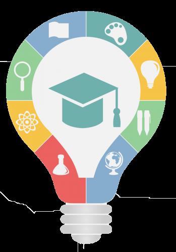 School Management Software Educational Infographic Teacher Logo Education Logo Design