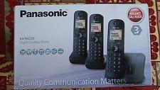 97317c0c939 Panasonic KX-TGC213 Digital Cordless Phone with LCD Display - Black ...