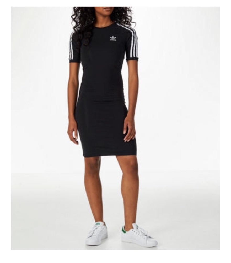 fast delivery new product new list BR4424 New Women's ADIDAS Originals 3-Stripes Dress SMALL ...