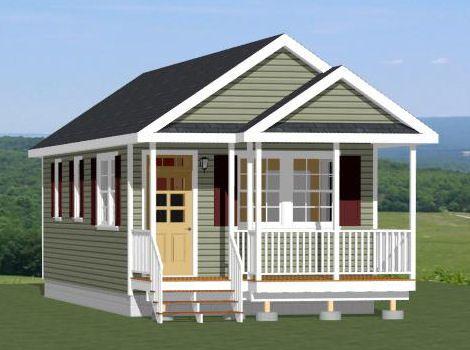 16x32 Tiny House 16X32H1F 511 sq ft Excellent Floor Plans – 16 X 32 Garage Plans