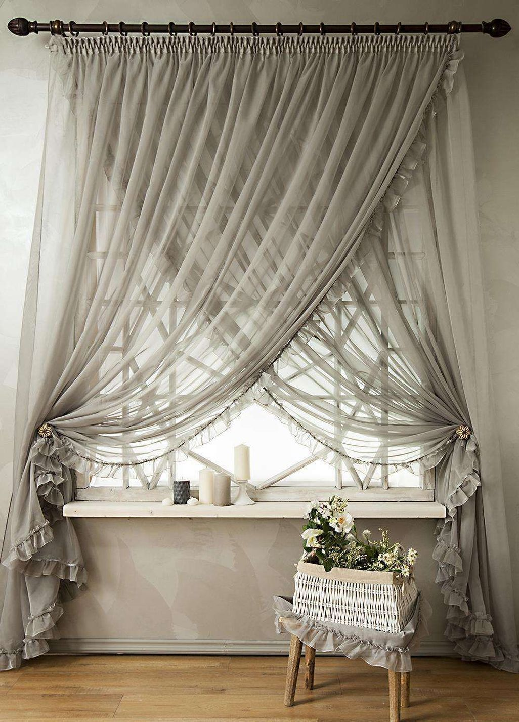 Nice 43 Ispiring Home Curtain Design Ideas More At Https Trend4homy Com 2018 08 13 43 Ispiring Home C Jalousien Schlafzimmerfenster Vorhange Vorhange Modern
