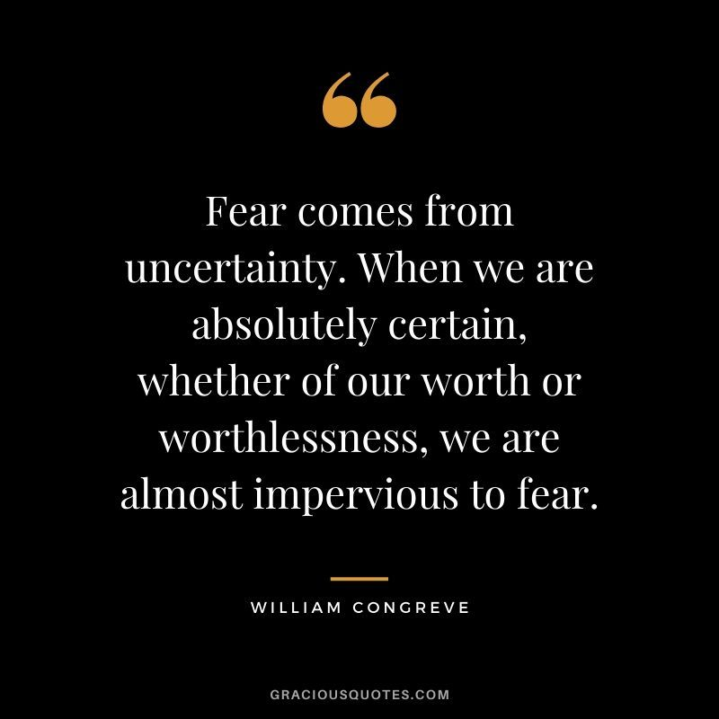 86 Inspirational Quotes on Fear (OVERCOME FEAR)