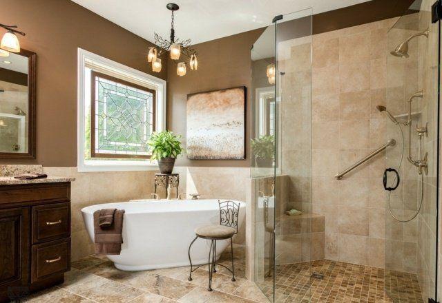 Meuble salle de bains bois, carrelage et déco en 105 idées! | Bath ...