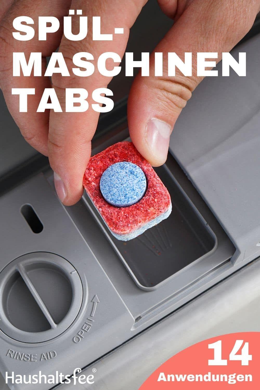 14 geniale Anwendungen für Spülmaschinentabs im Haushalt