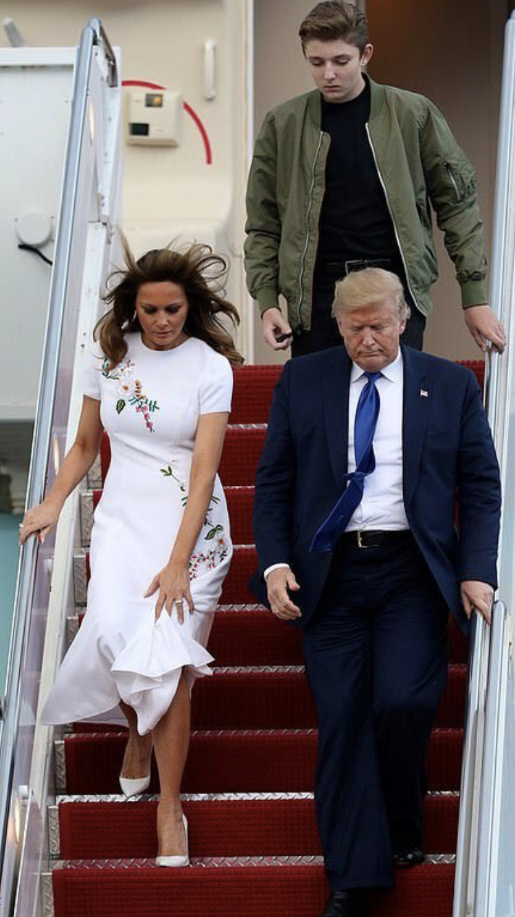 Pin By Rebecca Adams On Wardrobe In 2020 Trump Fashion First Lady Melania Trump Donald And Melania Trump