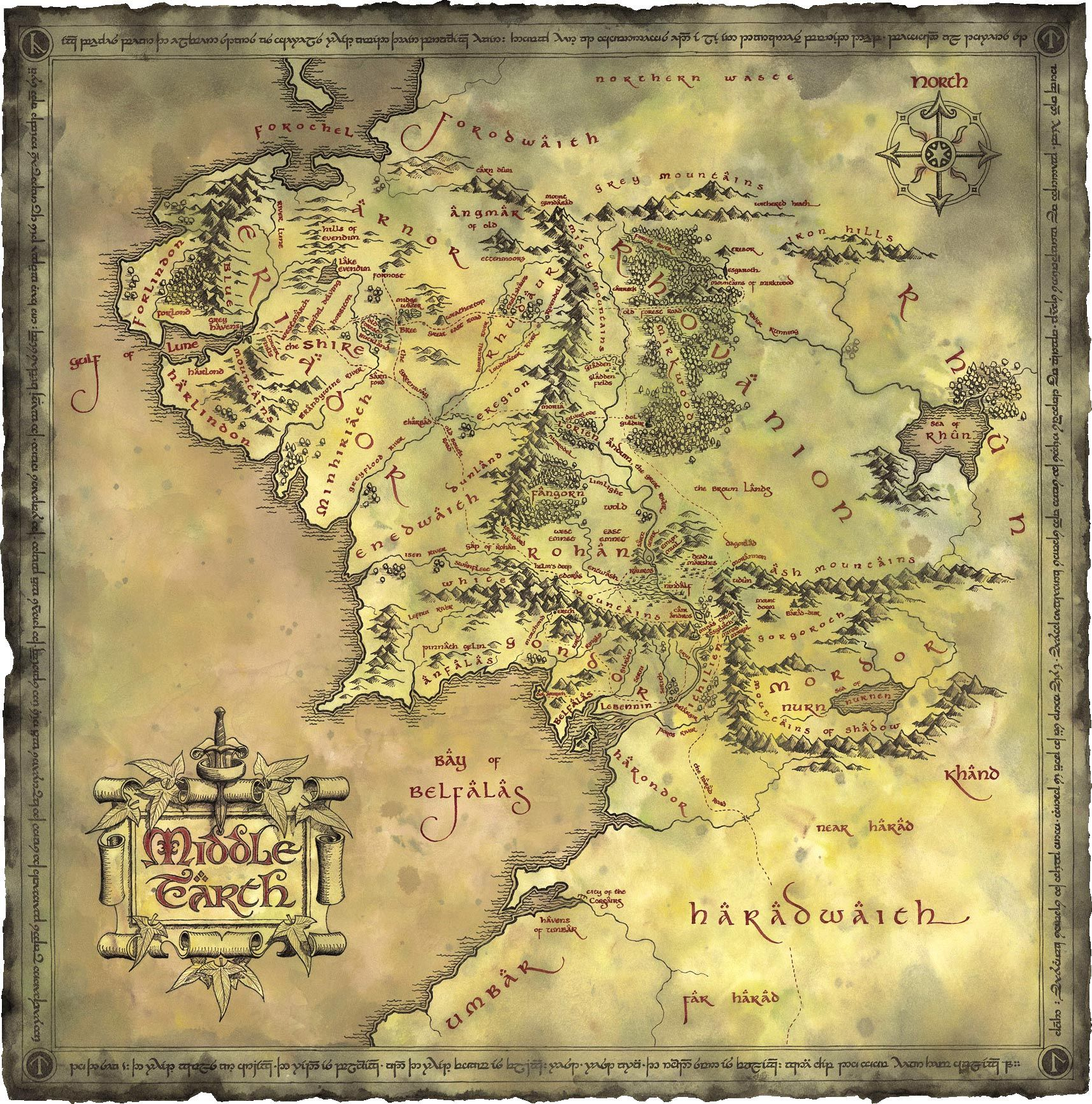 The power of tolkiens prose middle earth middle and earth narnia gumiabroncs Image collections