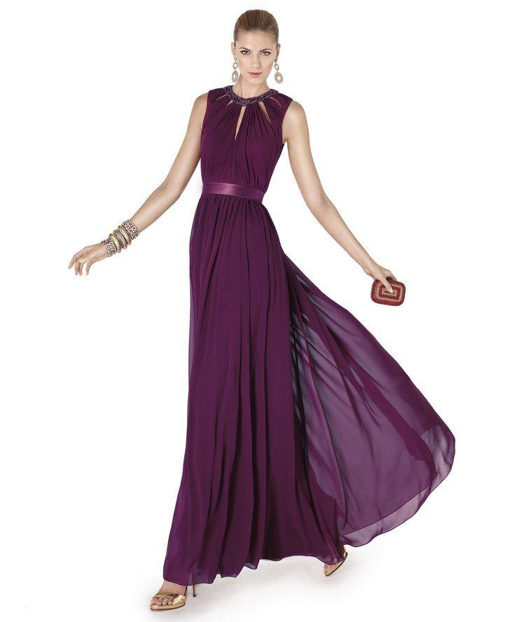 te presenta su vestido de fiesta ALBAHACA de la colección Fiesta ...