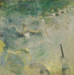Henri de Toulouse-Lautrec. Ballet Dancers, 1885/86. Helen Birch Bartlett Memorial Collection.