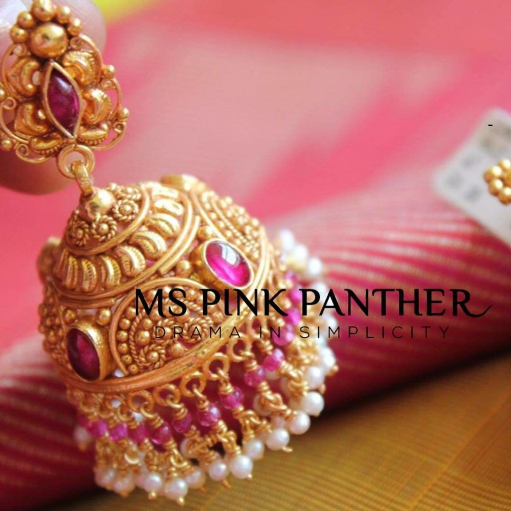 9 Best Places to Buy Traditional Jhumkas Online in 2018 | jhumuka ...