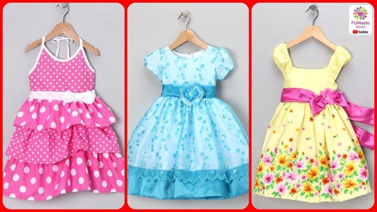 Kids Baby Summer Cotton Frocks Designs | Girls Party Wear Dress ...