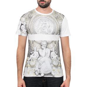 Sixth June - Sculpture All-Over Tee Blanc