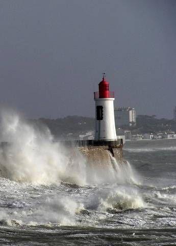 Le phare de la Chaume,Les Sables-d'Olonne.  France
