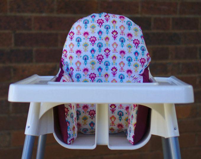Ikea High Chair Cushion Cover Birthday High Chair Cover Antilop Highchair Insert Pad Baby Nursery Decor Baby Led Weaning Blw Chair Cushion Covers Ikea High Chair Highchair Cover