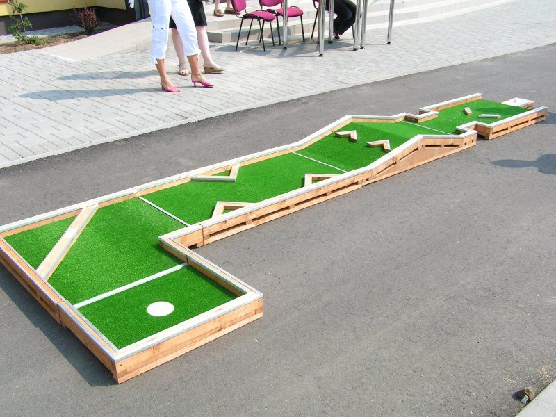 Want To Play Mini Golf Play It At Home Interchangeable Mini Golf
