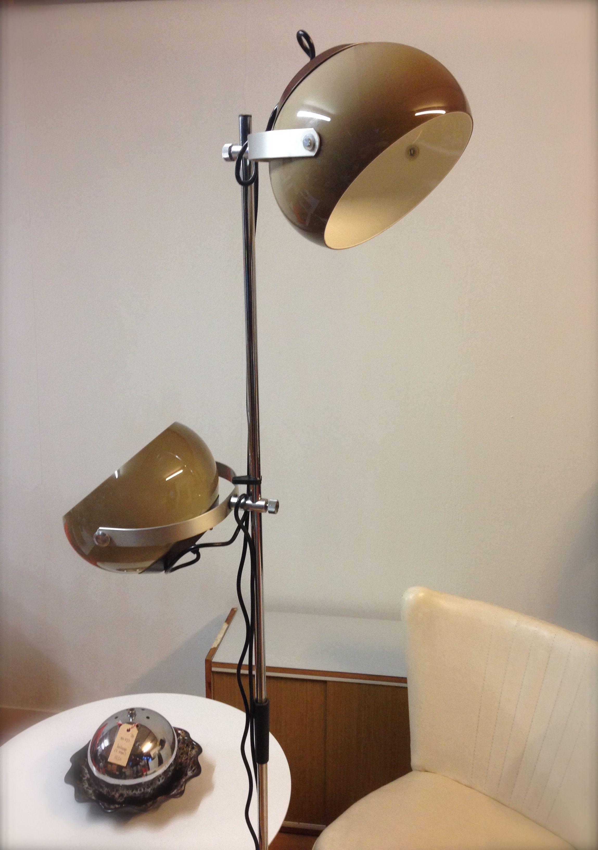 Verwonderlijk Retro staande lamp vloerlamp 70s lamp Dutch design lamp seventies HR-83