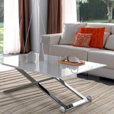mesa centro elevable a comedor | Furniture | Pinterest