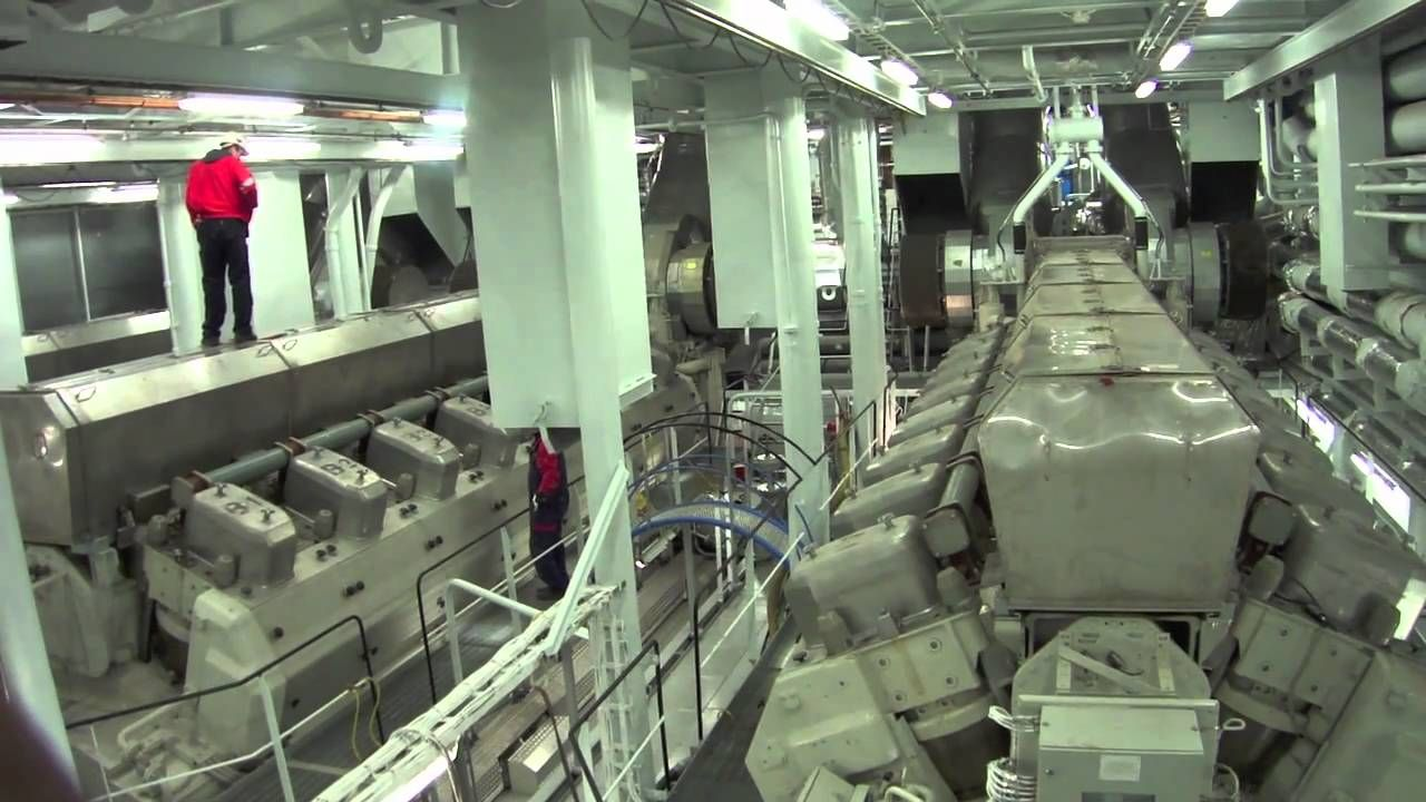 Cruise Ship Engine Room Displaying 20 Gt Images For