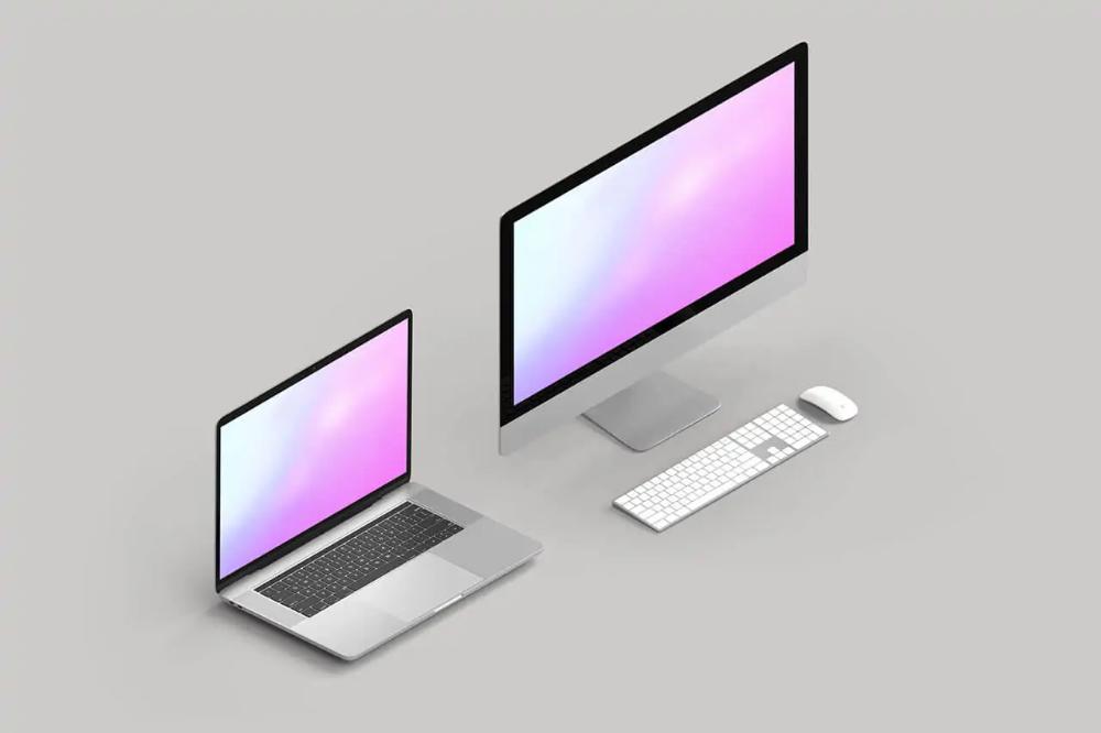 30 Best Imac Mockup Templates Mediamodifier In 2020 Imac Mockup Website Mockup