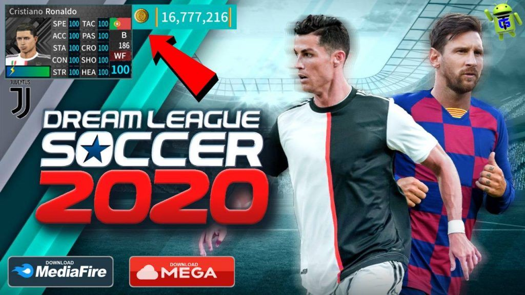 Dream League Soccer 2020 APK Mod Money Juventus Update