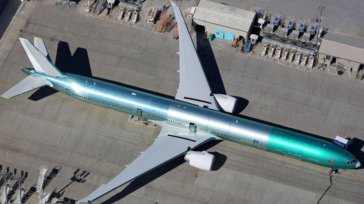 777 9x Aircraft Aviation Civil Aviation