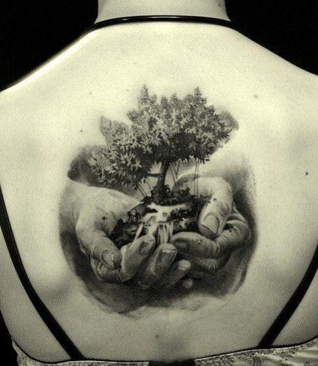34++ Tatouage arbre de vie dos trends