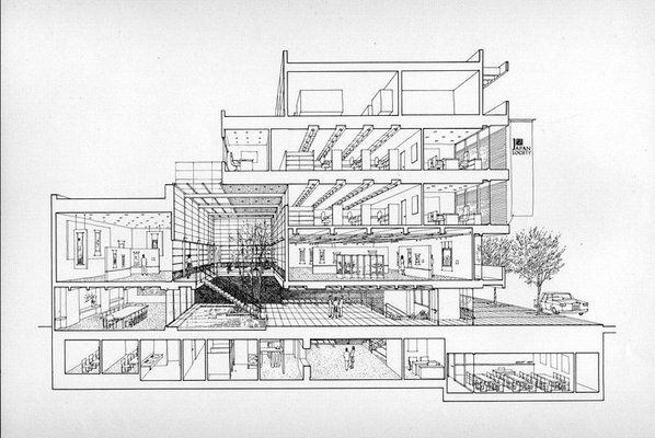 Architecture Plan For Japan Society