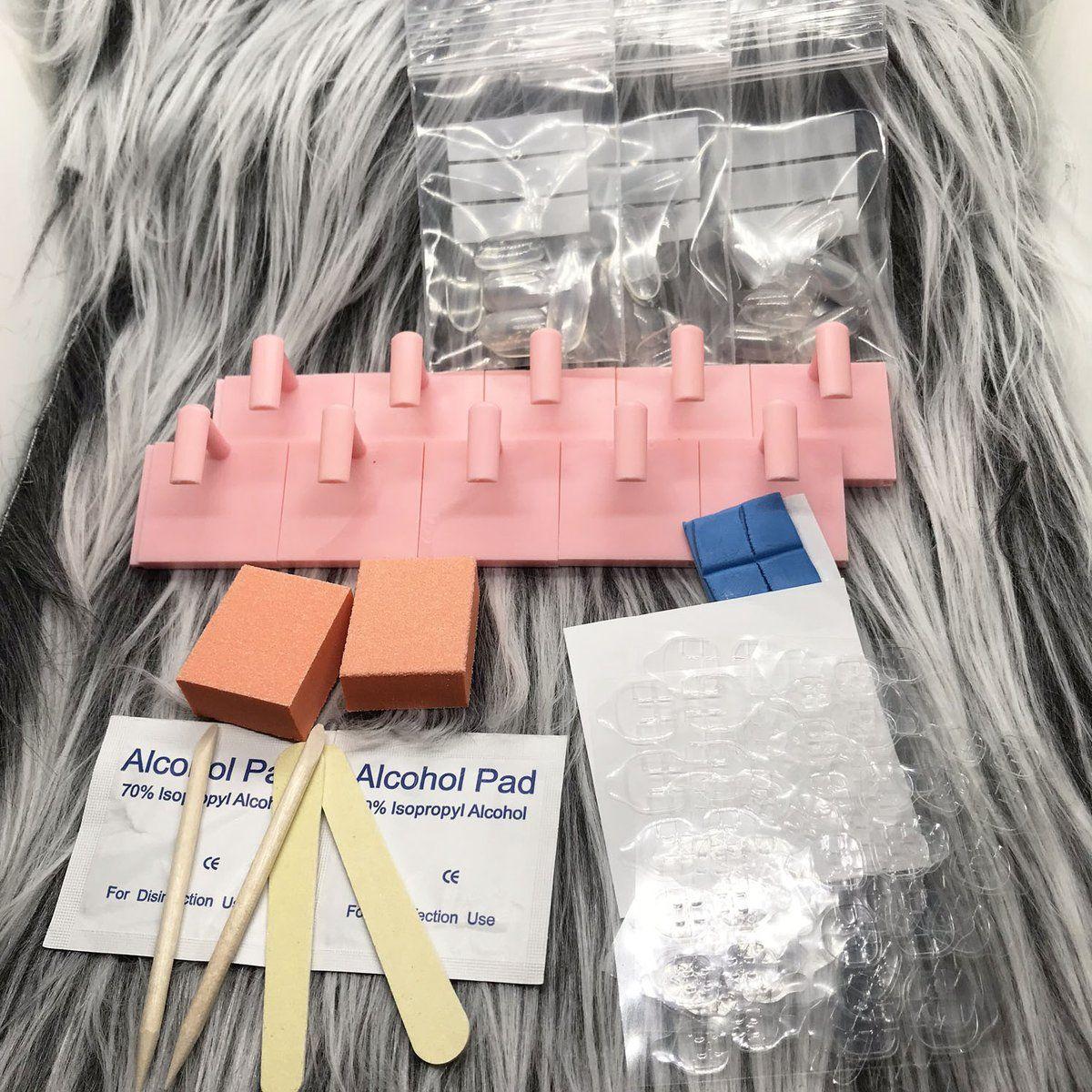 Diy presson nail kit nail kit press on nails glue on