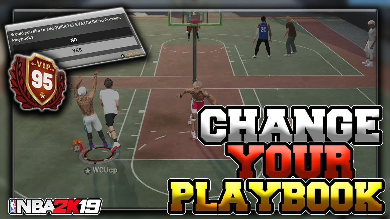 NBA 2K19 | HOW TO CHANGE YOUR PLAYBOOK!! (100% Quick and