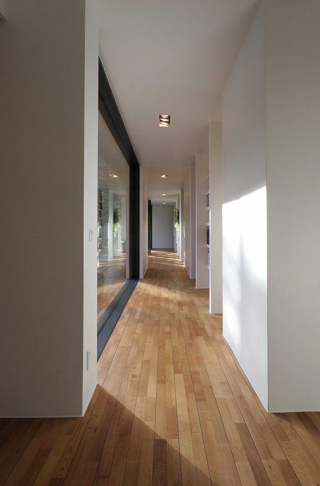 *modern Interiors, Minimalism, Architecture, Design, Corridors, Windows*    Bergman