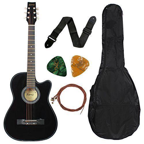 Ju C3 A2rez Acoustic Cutaway 038c Strings Guitar Bag Cutaway Guitar