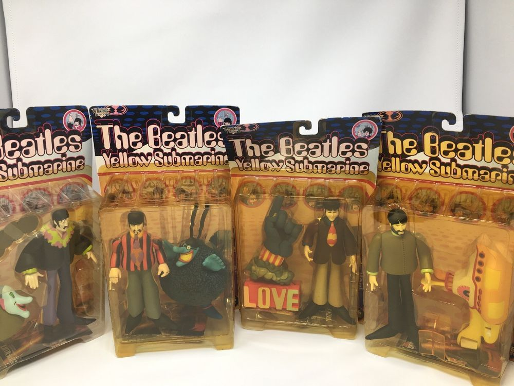 4- The Beatles Yellow Submarine Figures By McFarlane Toys Factory ...