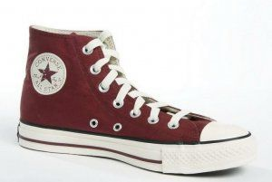 6d345fe8c68b5a Chuck Taylor All Star Maroon Hi Stamp Red
