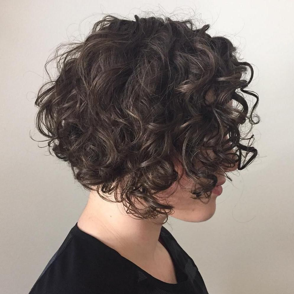 different versions of curly bob hairstyle hairstyles