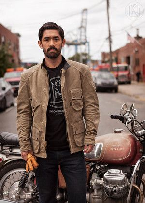 union garage x vanson robinson motorcycle jacket - Union Garage