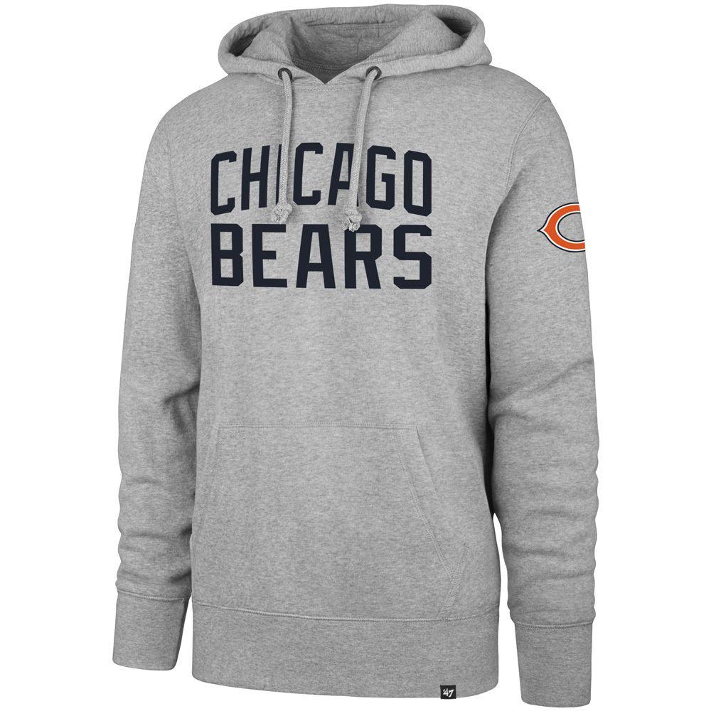 1cf9faf0d21 Chicago Bears Gamebreak Headline Pullover Hoodie by  47  ChicagoBears  Bears   DaBears