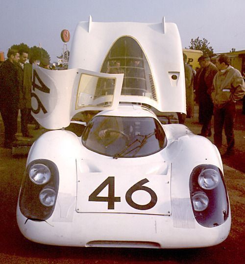 The first public on circuit appearnace of the 917 was at the Le Mans test…