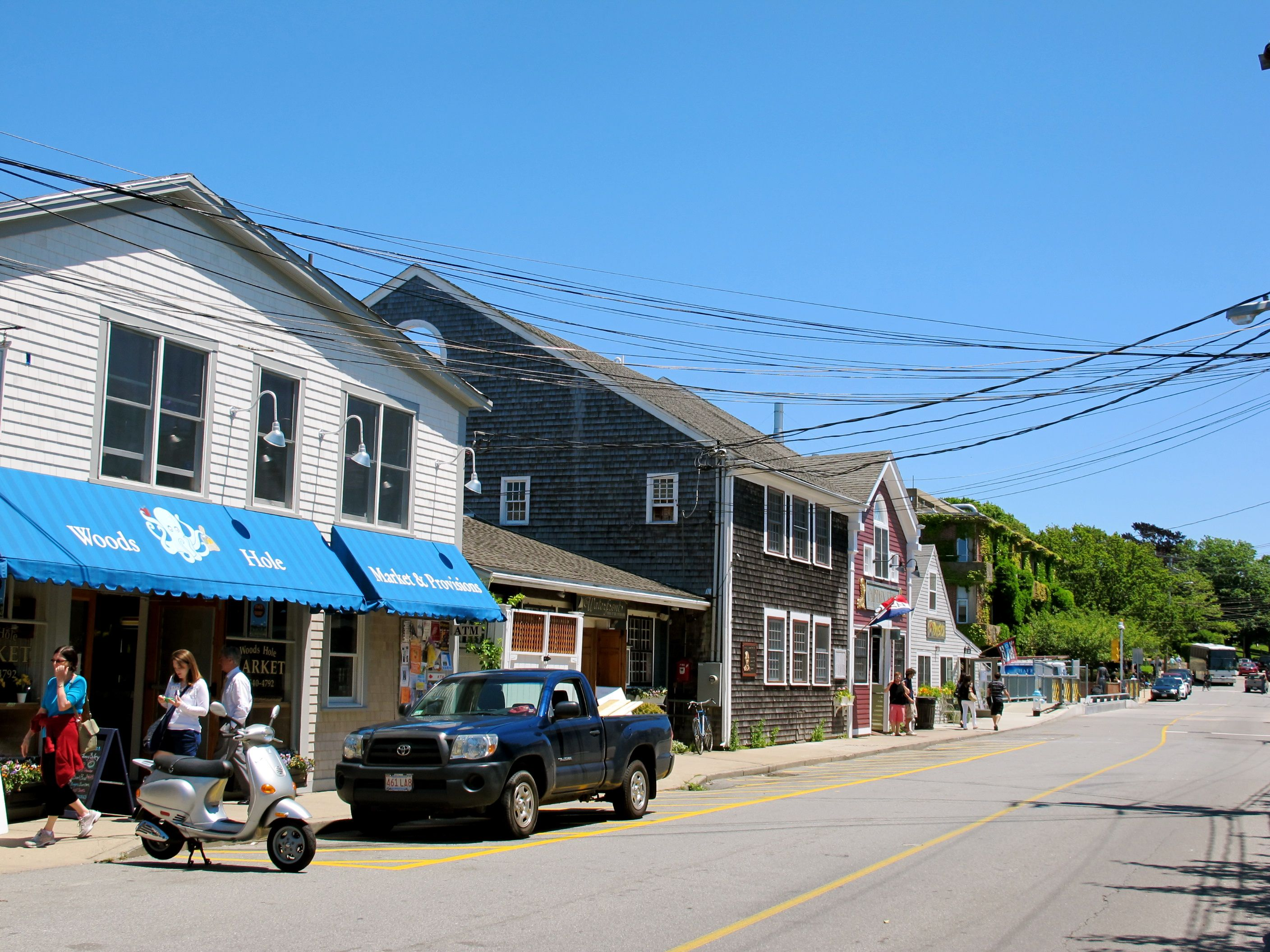 One of the quieter June mornings here in Woods Hole.
