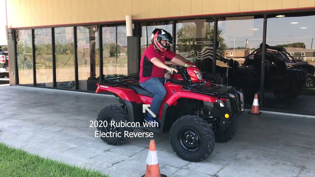 Honda Four Wheelers For Sale >> New Electric Reverse On Honda Atvs Honda Atv Four