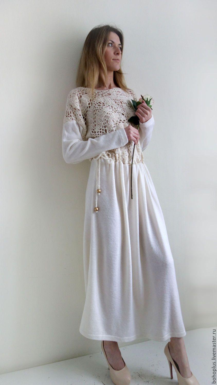 модные платья в стиле бохо купить