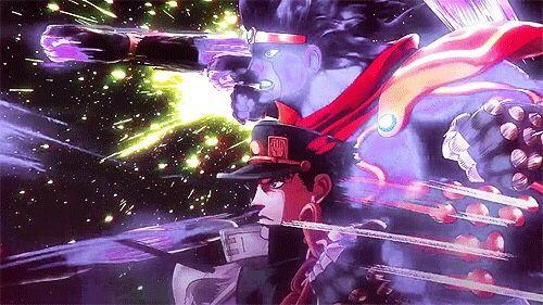 OP Finisher Of The Day Jotaro Kujos Ora Anime JoJos Bizarre Adventure