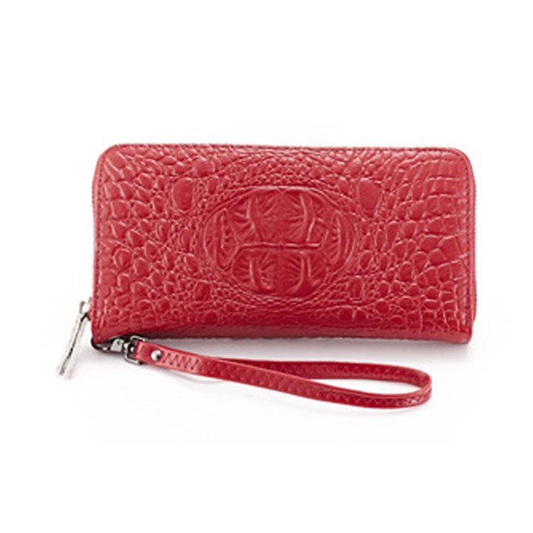 700ed153d Comprar monederos baratos online de carteras de cuero auténticas femeninas