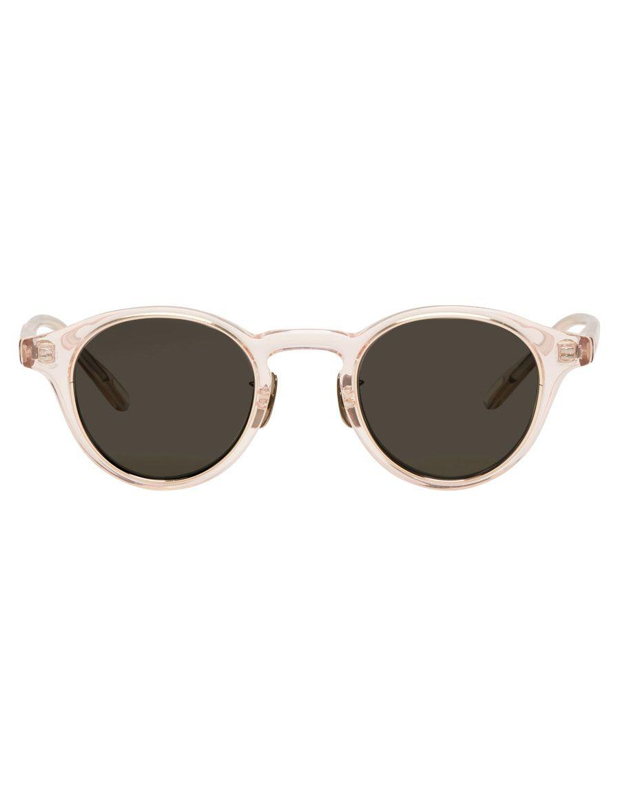 H3 Yuichi Toyama H3 Pink Zrh Round Sunglasses Round Sunglasses
