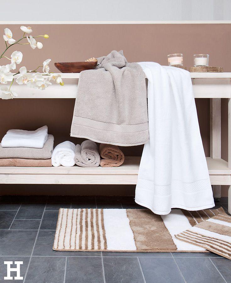 Harmonische Farbgestaltung fürs Badezimmer. #bad #idee #farbe ...